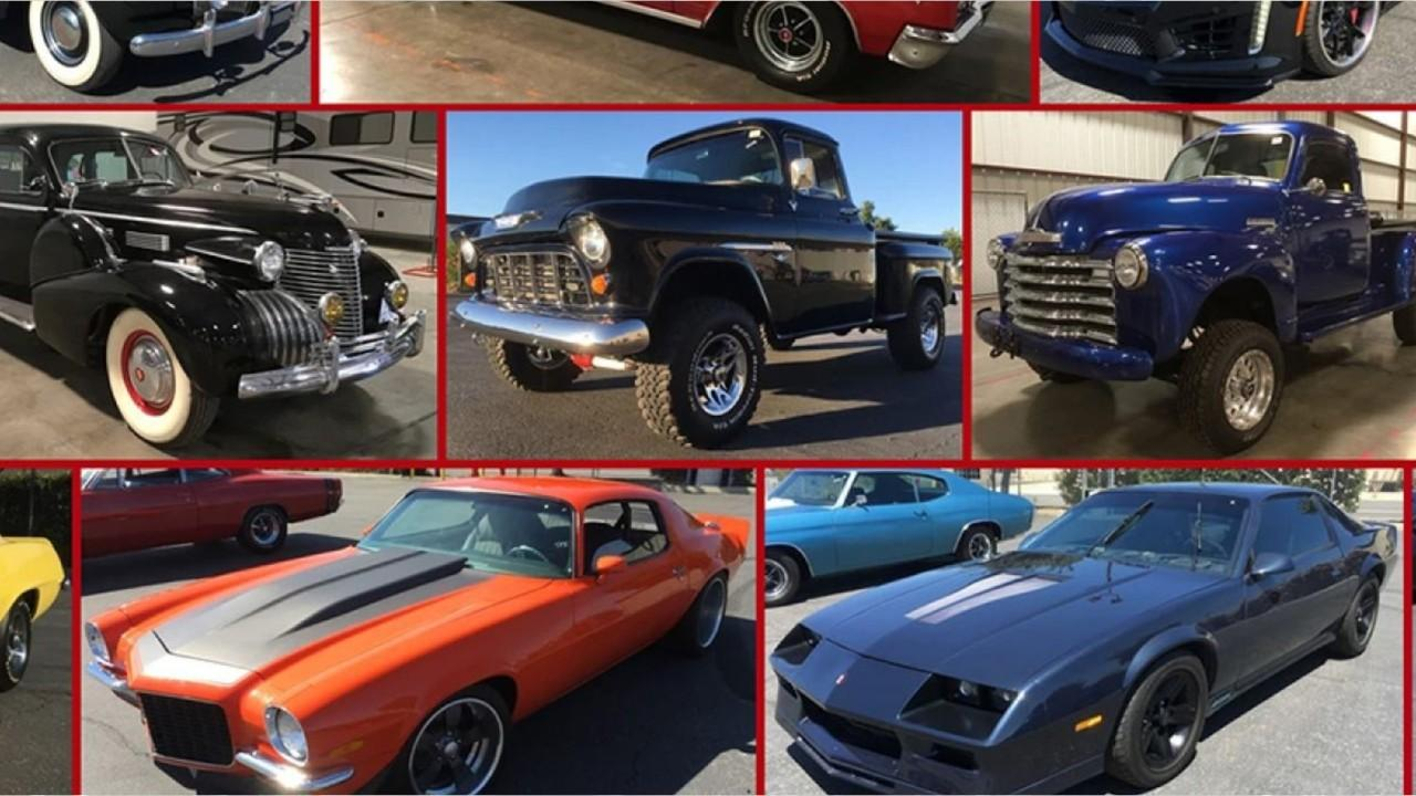 A massive car collection is going up for auction. Seized from owners of bankrupt energy company DC Solar there's bound to be the car you are looking for.