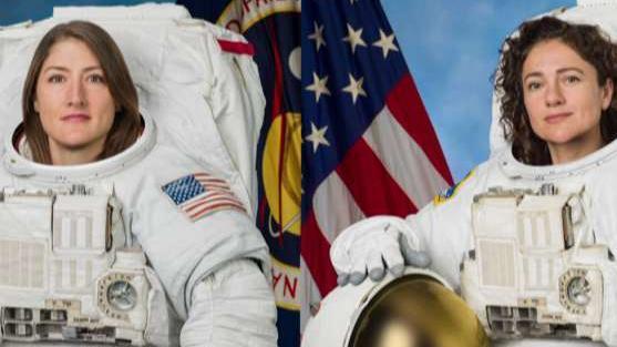Trump calls to congratulate 'brilliant' NASA astronauts during their historic all-female spacewalk