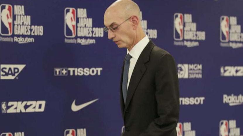 NBA commissioner says Chinese officials asked for Houston Rockets' GM to be fired over Hong Kong support