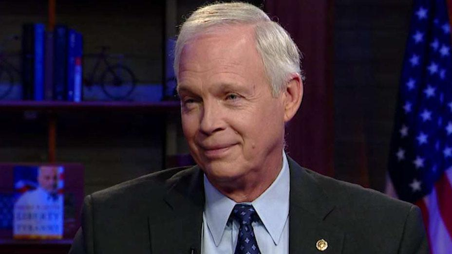Sen. Ron Johnson says President Trump's reservations about supporting Ukraine have been consistent