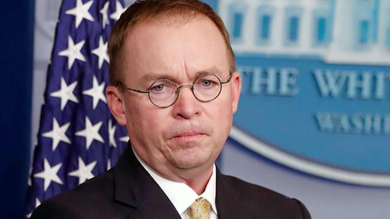 Mick Mulvaney insists Ukraine aid was not held up for political reasons