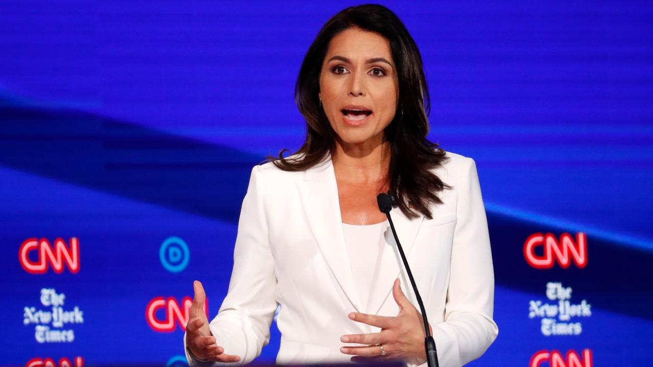 Bernie Sanders, President Trump back Tulsi Gabbard in feud with Hillary Clinton