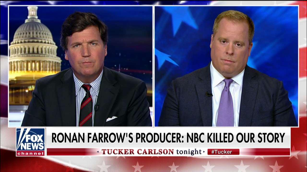 Rich McHugh reacts to NBC rejecting Ronan Farrow's report on Harvey Weinstein