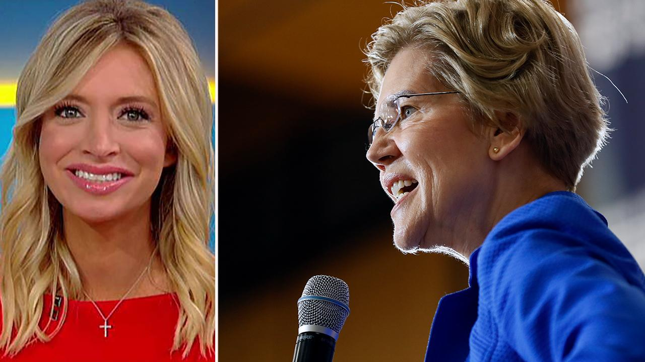 Trump campaign's Kayleigh McEnany predicts Elizabeth Warren will be Democrats' 2020 pick