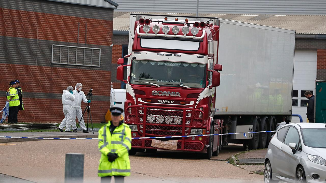 Westlake Legal Group 694940094001_6097103249001_6097104000001-vs 39 people found dead in truck in southeast England were Chinese nationals: report fox-news/world/world-regions/united-kingdom fox-news/world/world-regions/europe fox-news/world/crime fox news fnc/world fnc article 19c2aae2-6417-578d-b816-4ba000e16906