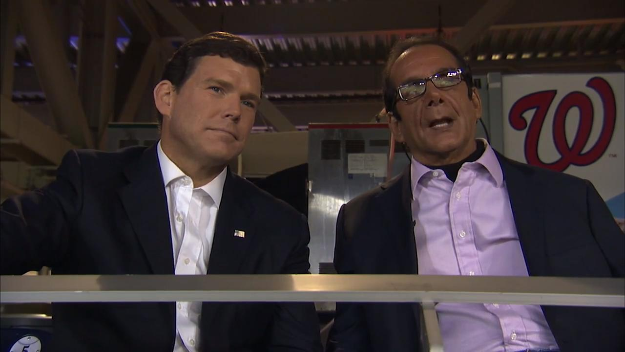 Bret Baier speaks to legendary Fox News contributor Charles Krauthammer about his love for baseball