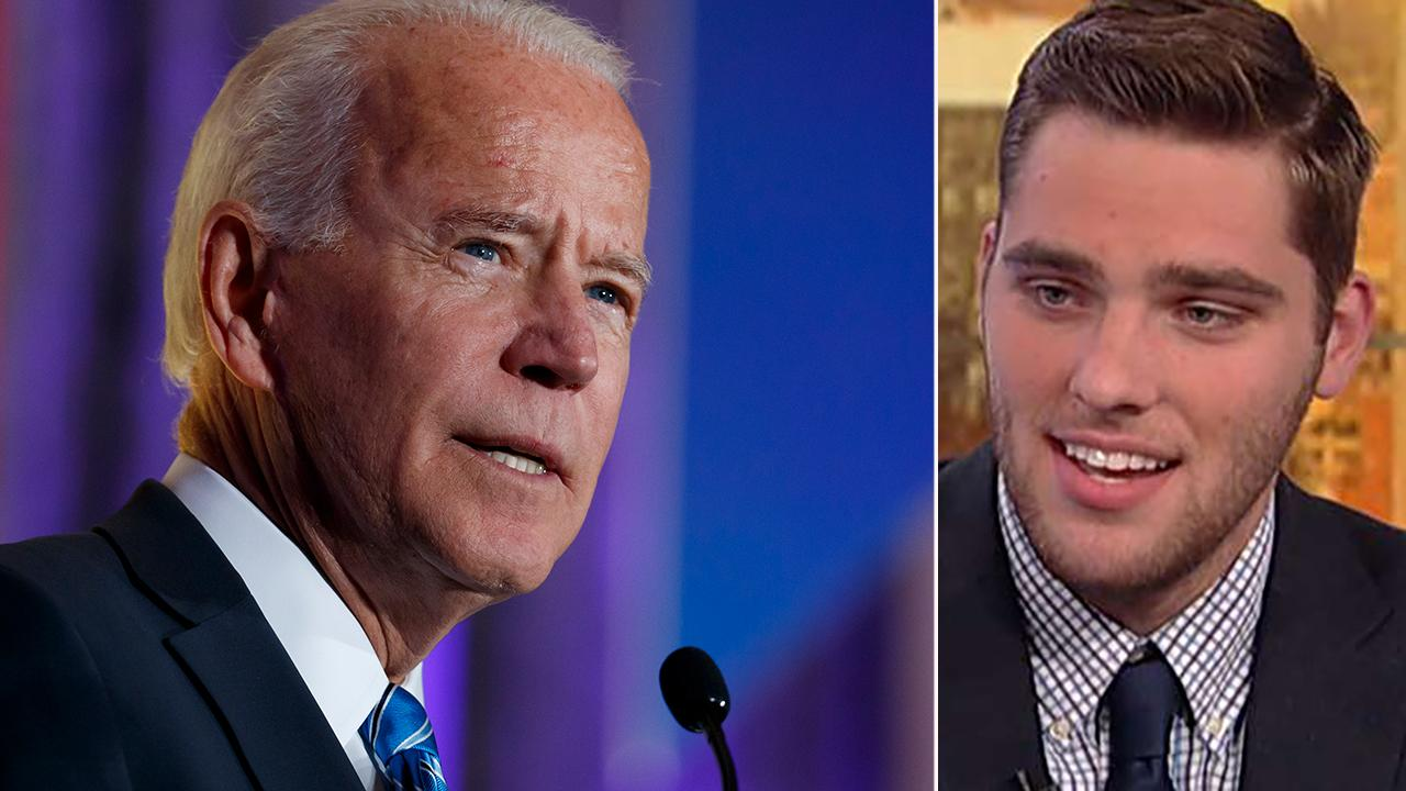 Brother of Sandy Hook shooting victim calls out Joe Biden for claiming he met with all the affected families