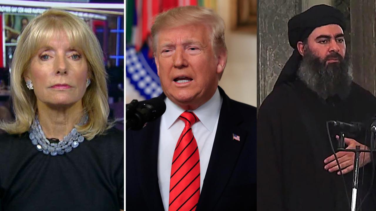 Liz Peek: Trump reveals Al-Baghdadi's death -- Terror fight's big win still can't get liberal media's approval