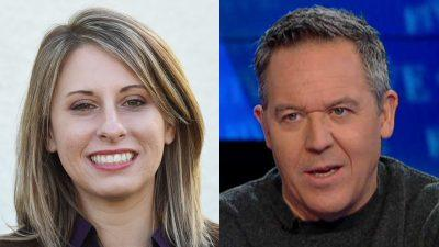 Greg Gutfeld responds to Katie Hill's resignation
