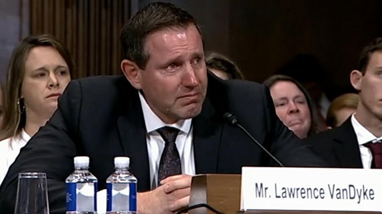 Trump judicial nominee Lawrence VanDyke brought to tears during Senate hearing
