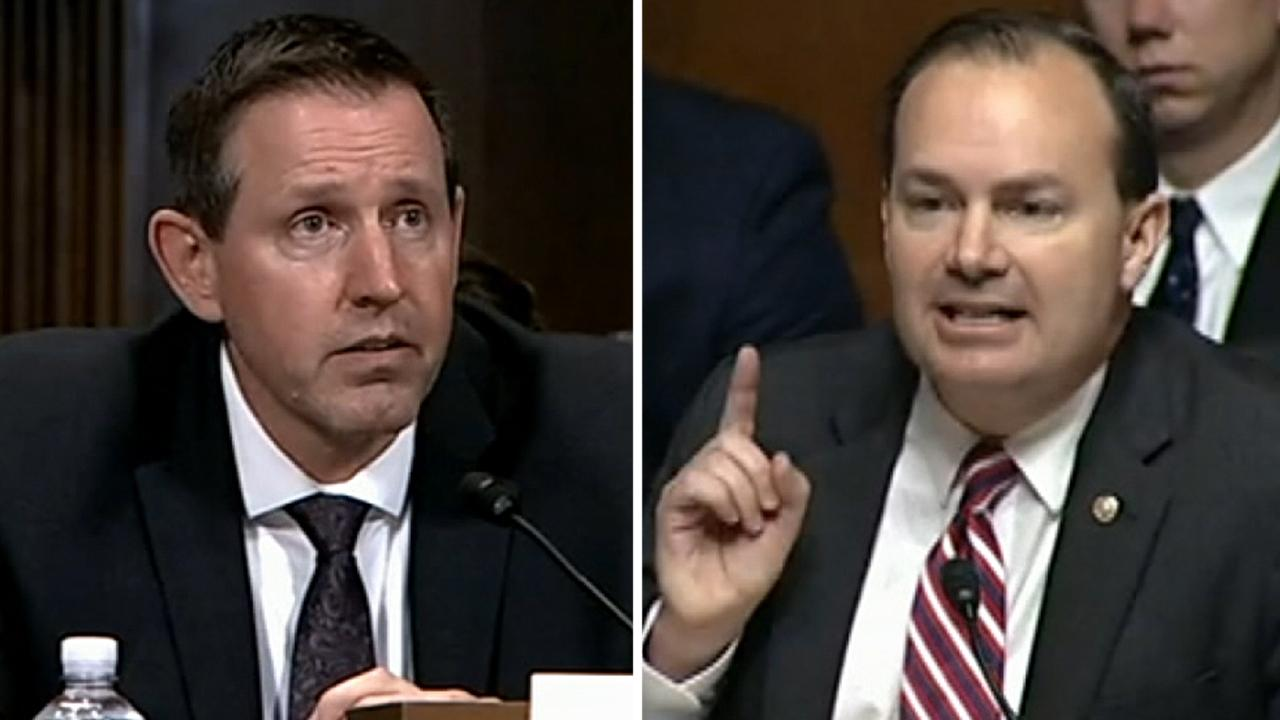 Sen. Mike Lee blasts the American Bar Association's assessment of Trump judicial nominee Lawrence VanDyke
