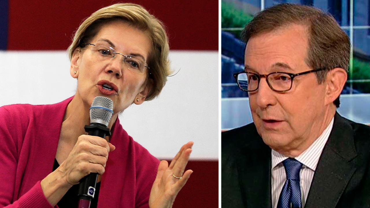 Chris Wallace on 'enormously risky' Elizabeth Warren's Medicare for all plan