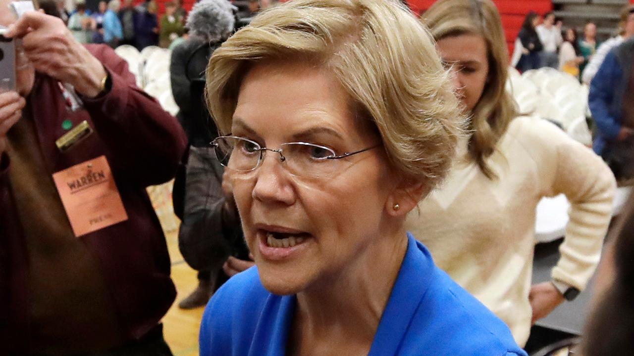 2020 presidential hopeful Elizabeth Warren pledges no middle-class tax hike to pay for 'Medicare-for-all'