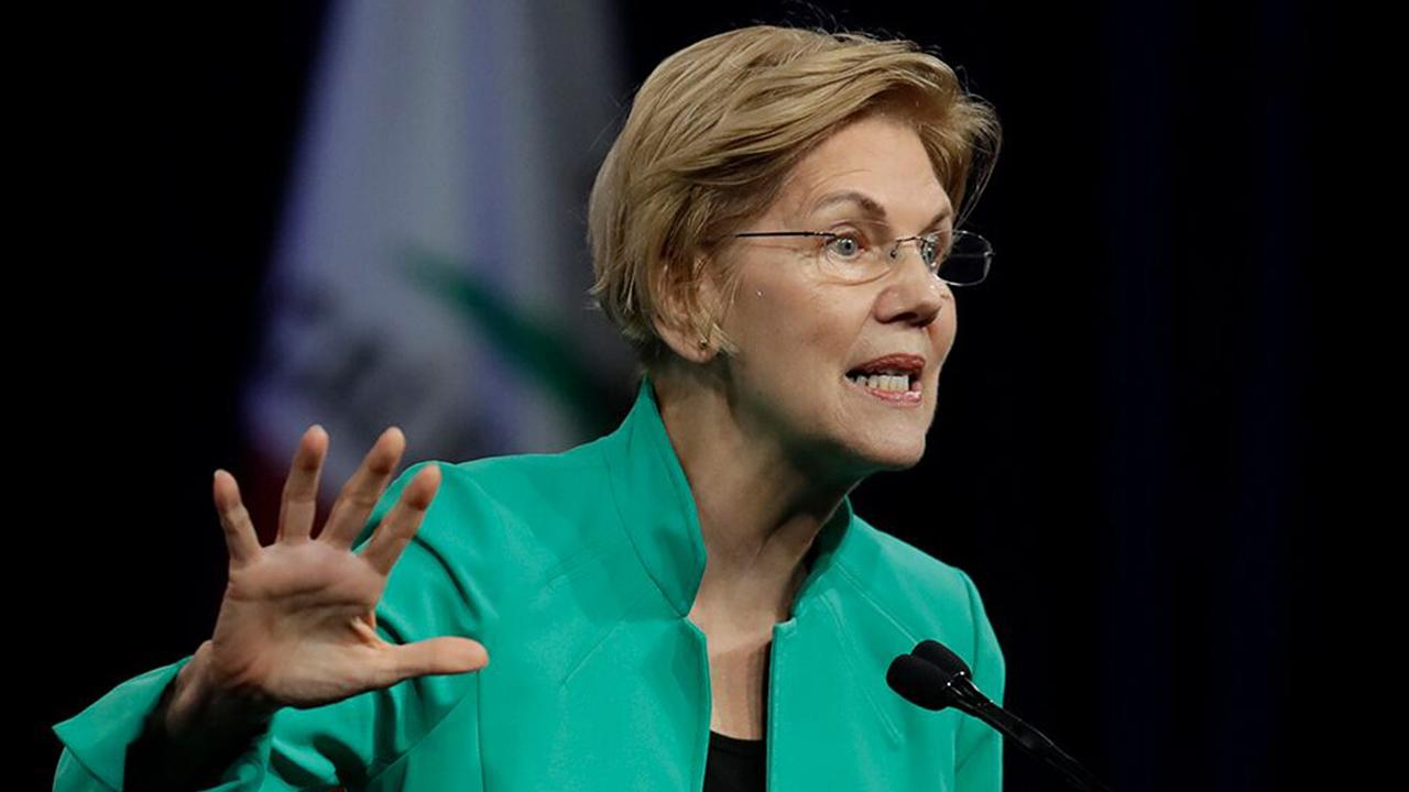 Elizabeth Warren defends $52 trillion price tag for her Medicare for all plan