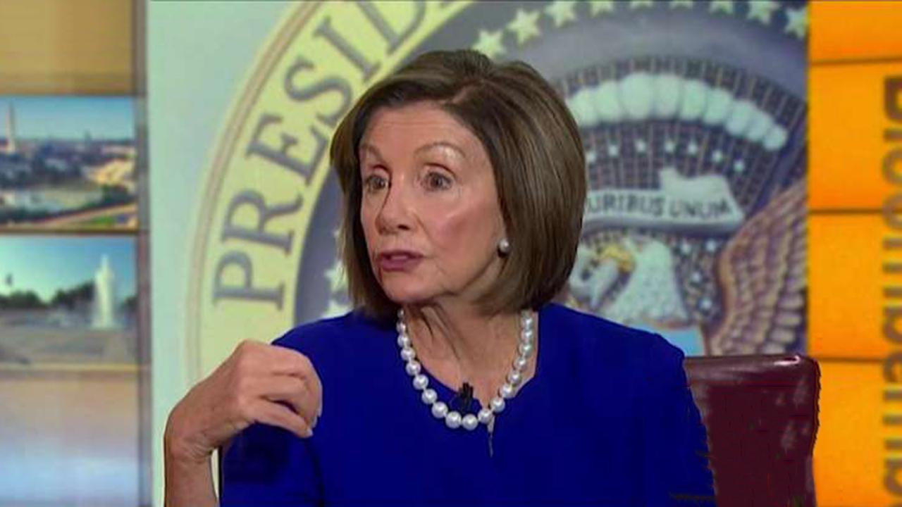 Speaker Nancy Pelosi says there is no deadline to finish impeachment proceedings