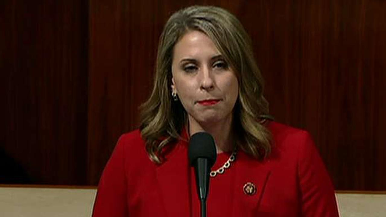 Rep. Katie Hill resigns because of a 'misogynistic culture'