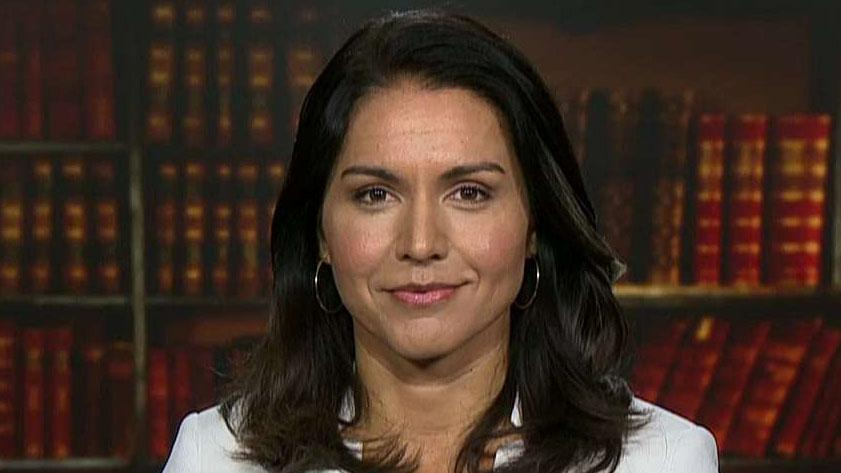 Rep. Tulsi Gabbard on transparency of impeachment inquiry, third-party rumors and feud with Hillary Clinton