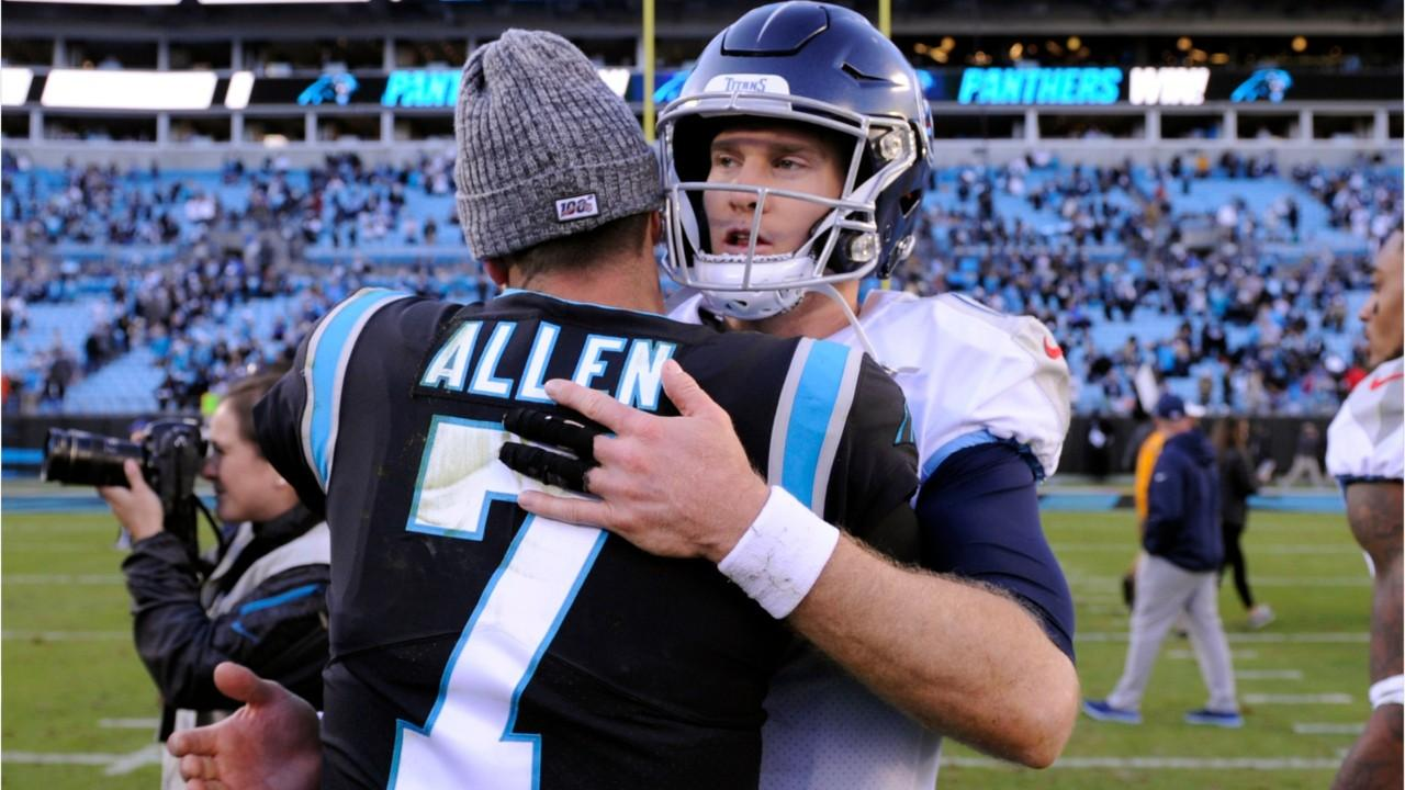 Quarterback Kyle Allen, Brandon Allen and Josh Allen, made an NFL first in week 9. The three Allens all started games for their respective teams and they all won.