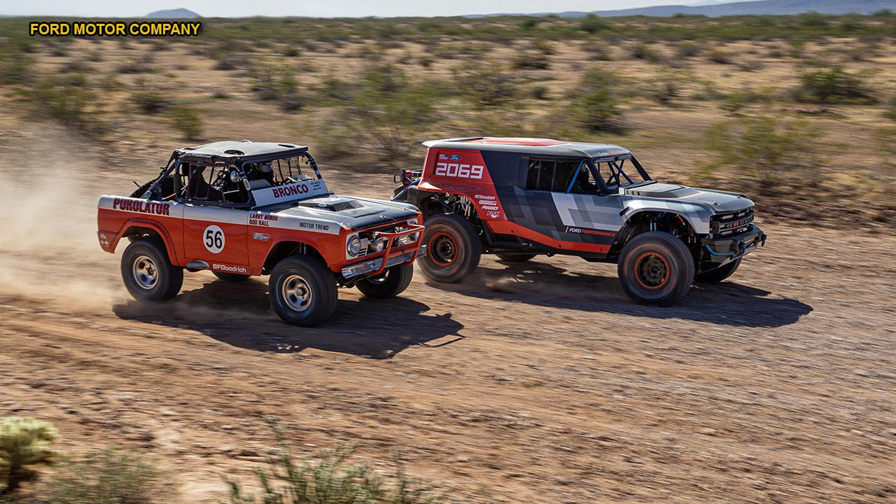 Ford Bronco R entering Baja 1000 ahead of retail revival