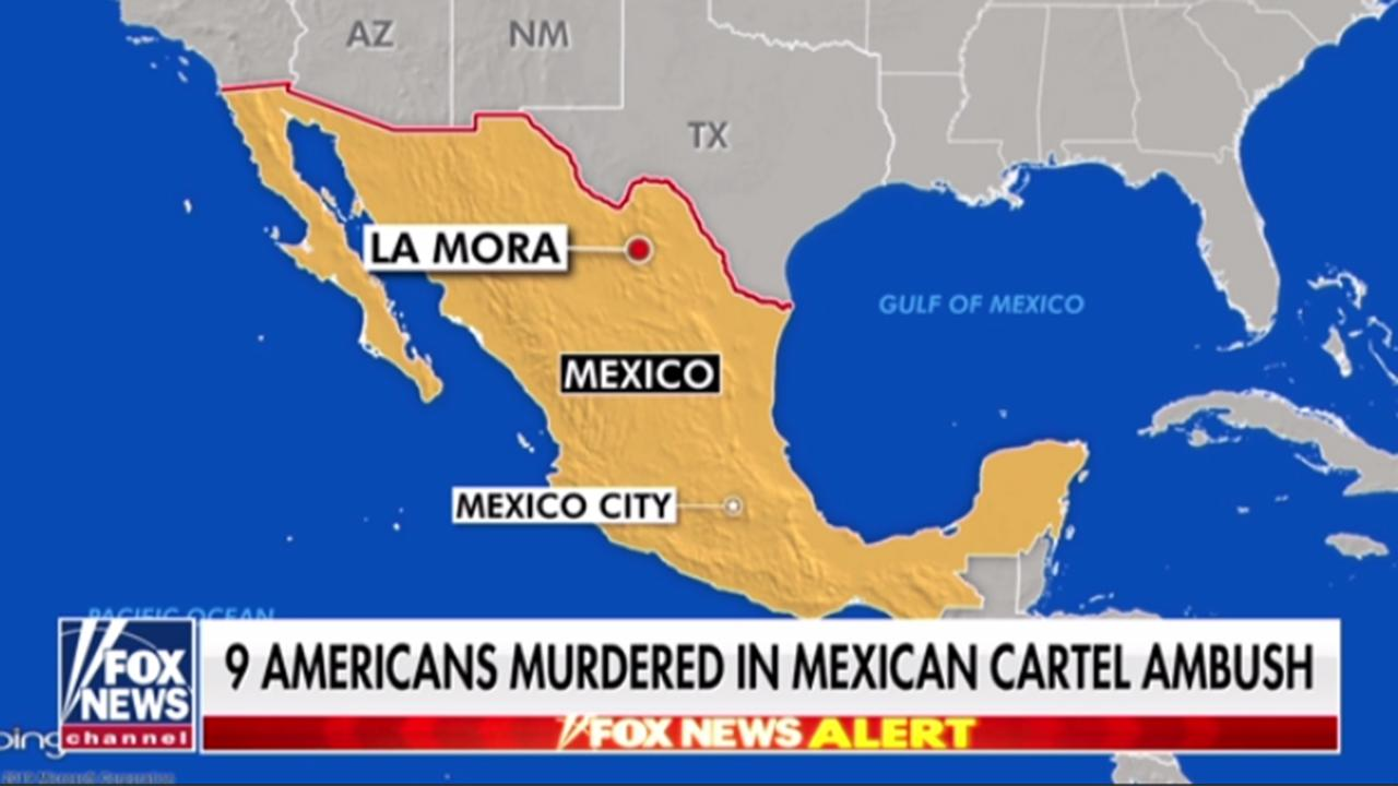 Americans ambushed and massacred in Mexico cartel attack