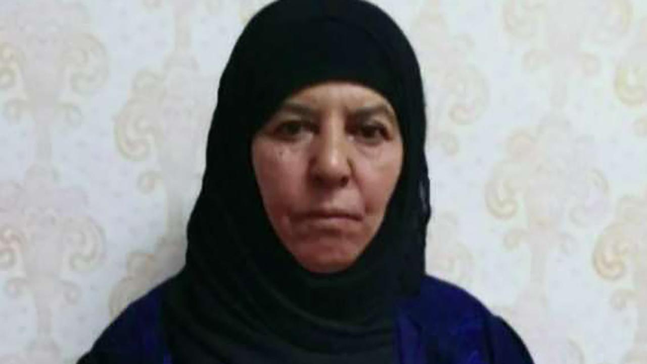 Sister of slain ISIS leader Baghdadi captured, reportedly an intelligence 'gold mine'