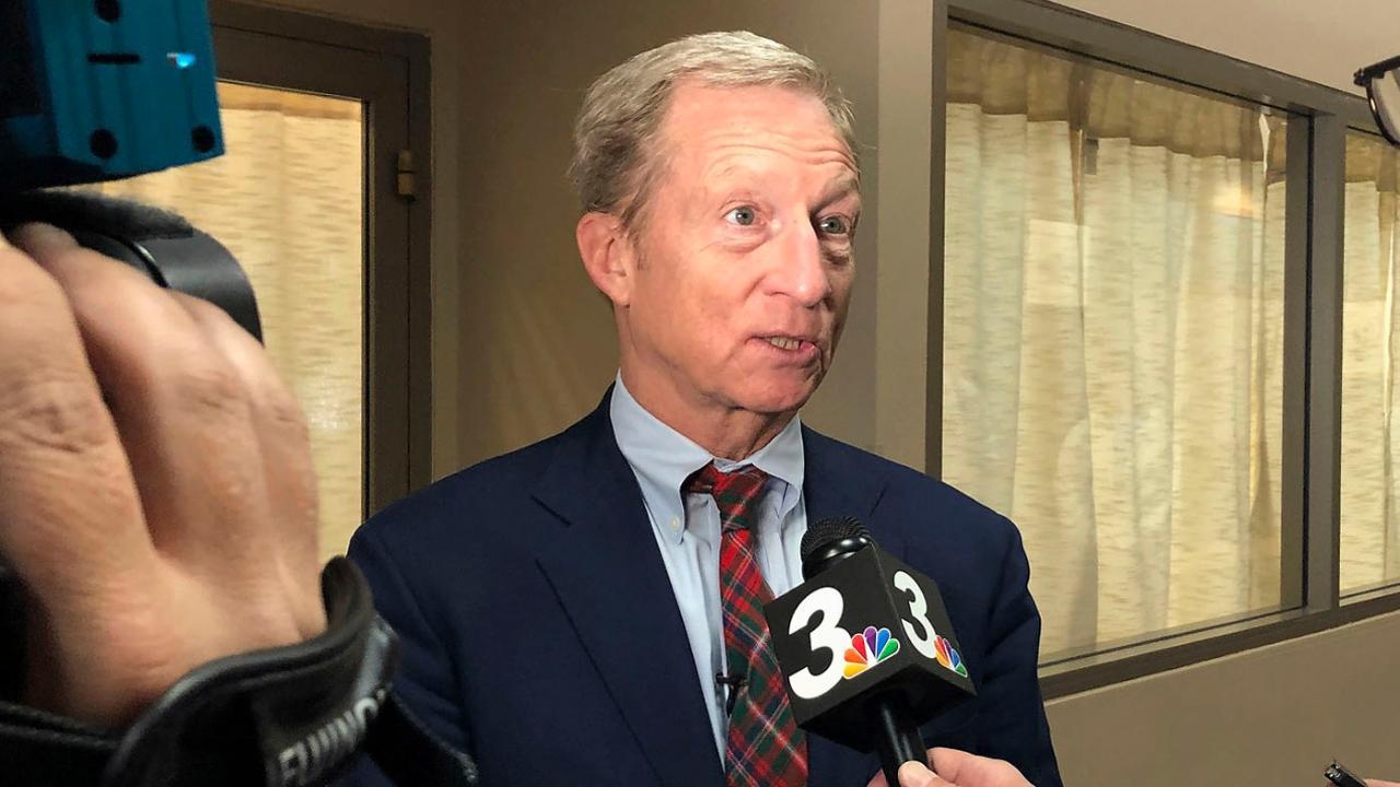 Tom Steyer staffer resigns after downloading data on Kamala Harris campaign