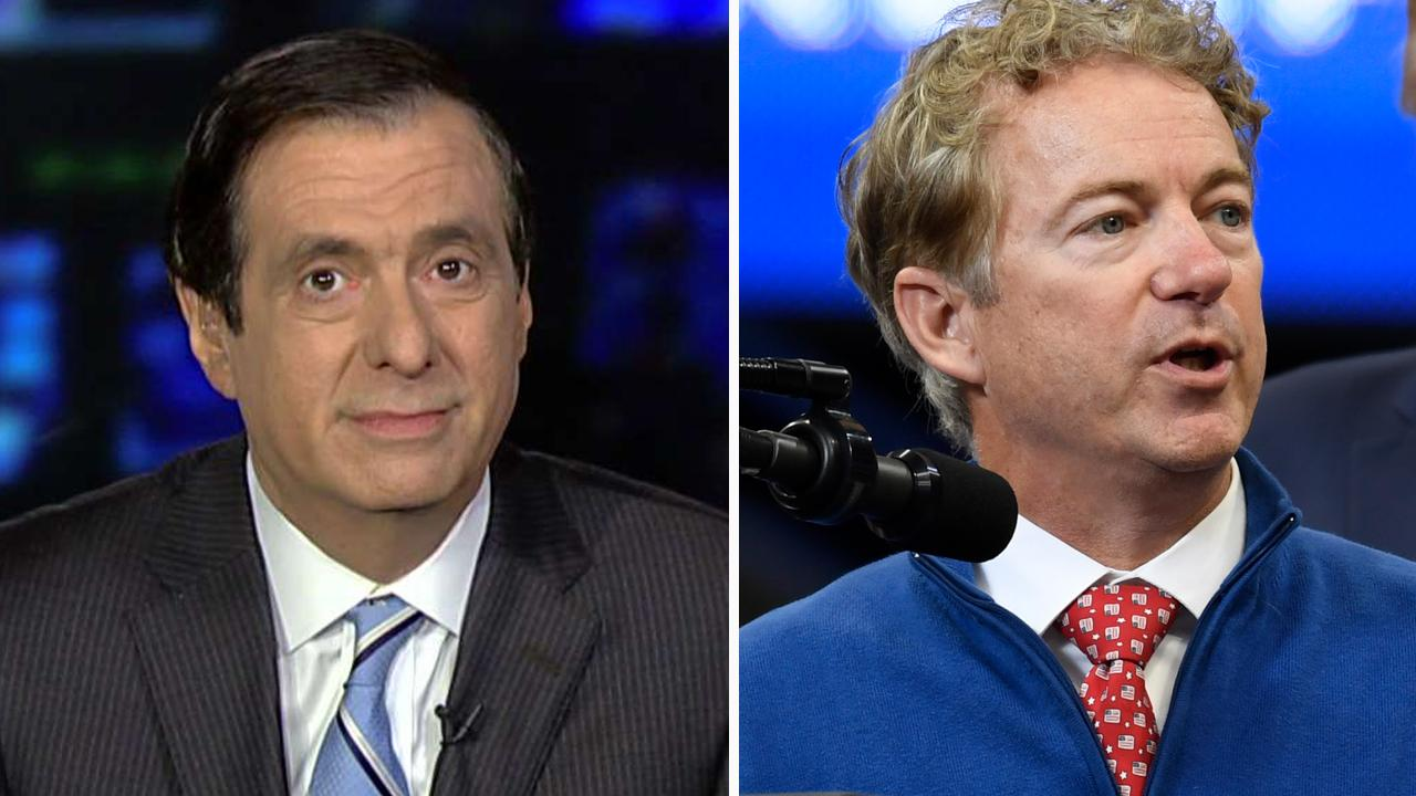 Howard Kurtz: Rand Paul wants CIA officer outed, if someone else does it