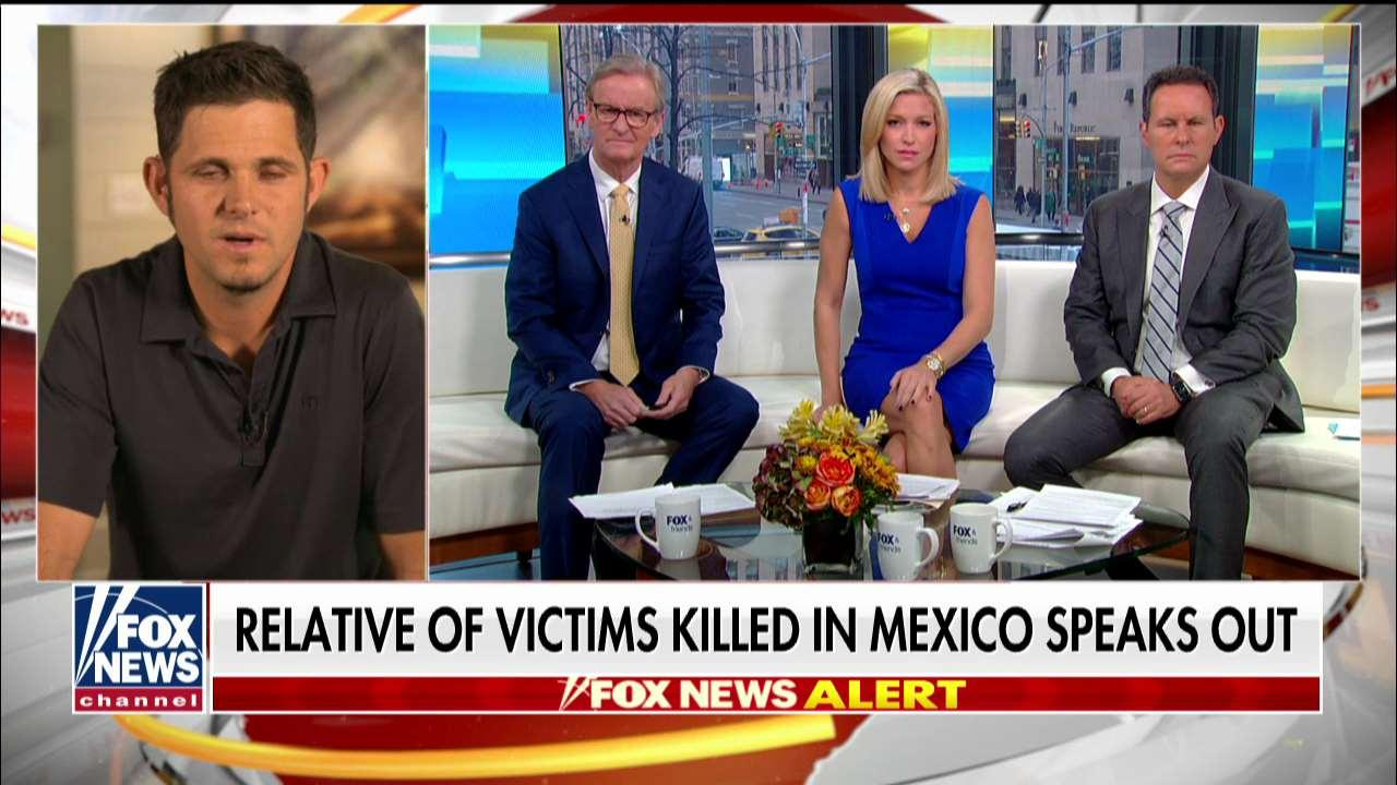 Relative of Americans ambushed in Mexico speaks out on 'Fox & Friends'