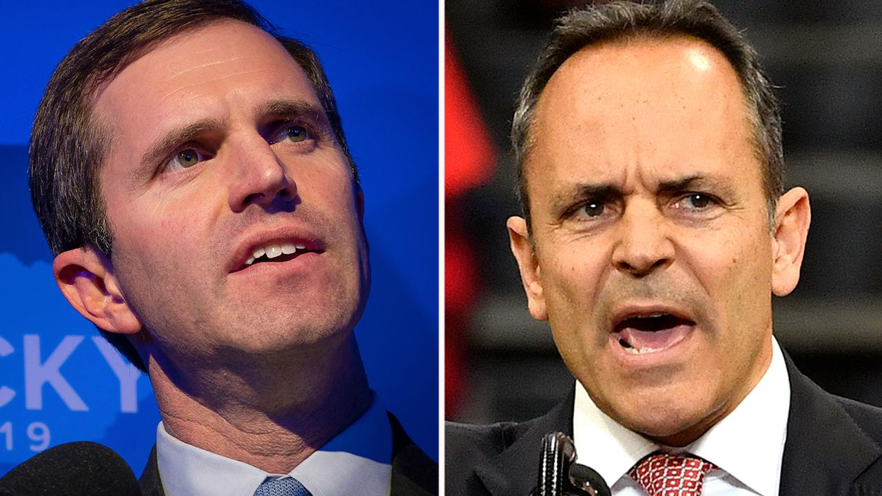 Libertarians relish spoiler role in Kentucky governor's race as Bevin trails