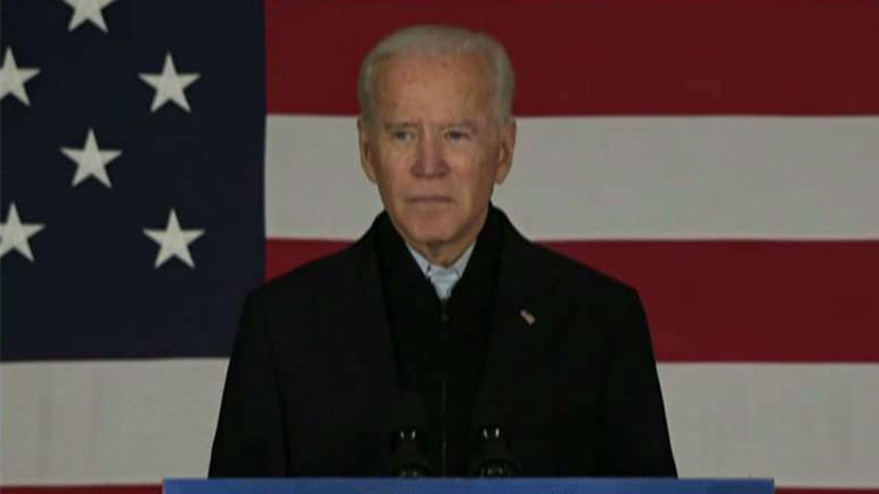 Biden op-ed indirectly attacks Warren's 'my way or the highway' approach to politics