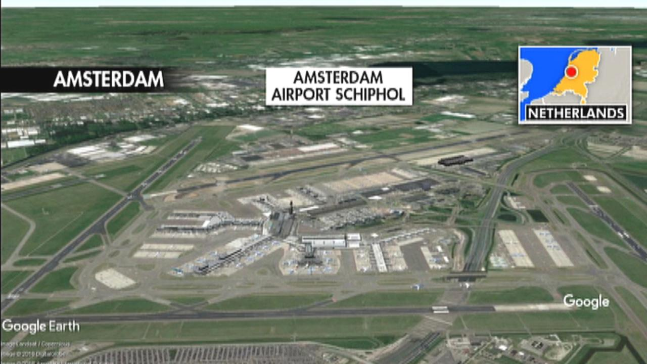 Amsterdam Airport Schiphol 'suspicious situation' draws large emergency response