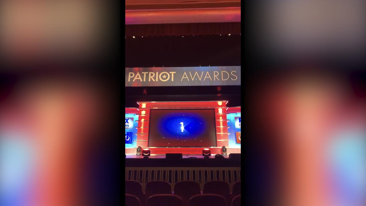 Behind the scenes at Fox Nation's Patriot Awards