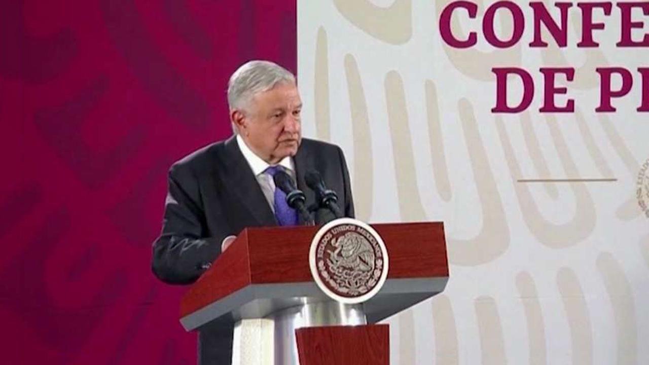 Mexican President Obrador rejects President Trump's call for a war on cartels