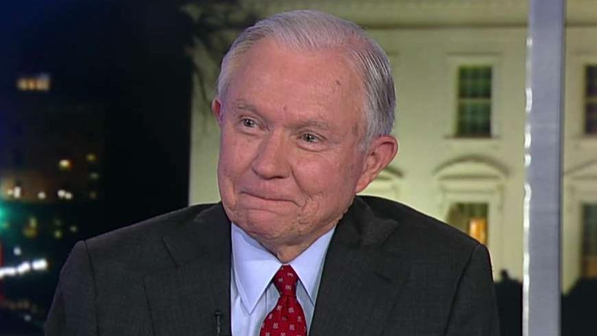 Jeff Sessions announces run for Senate on 'Tucker Carlson Tonight'