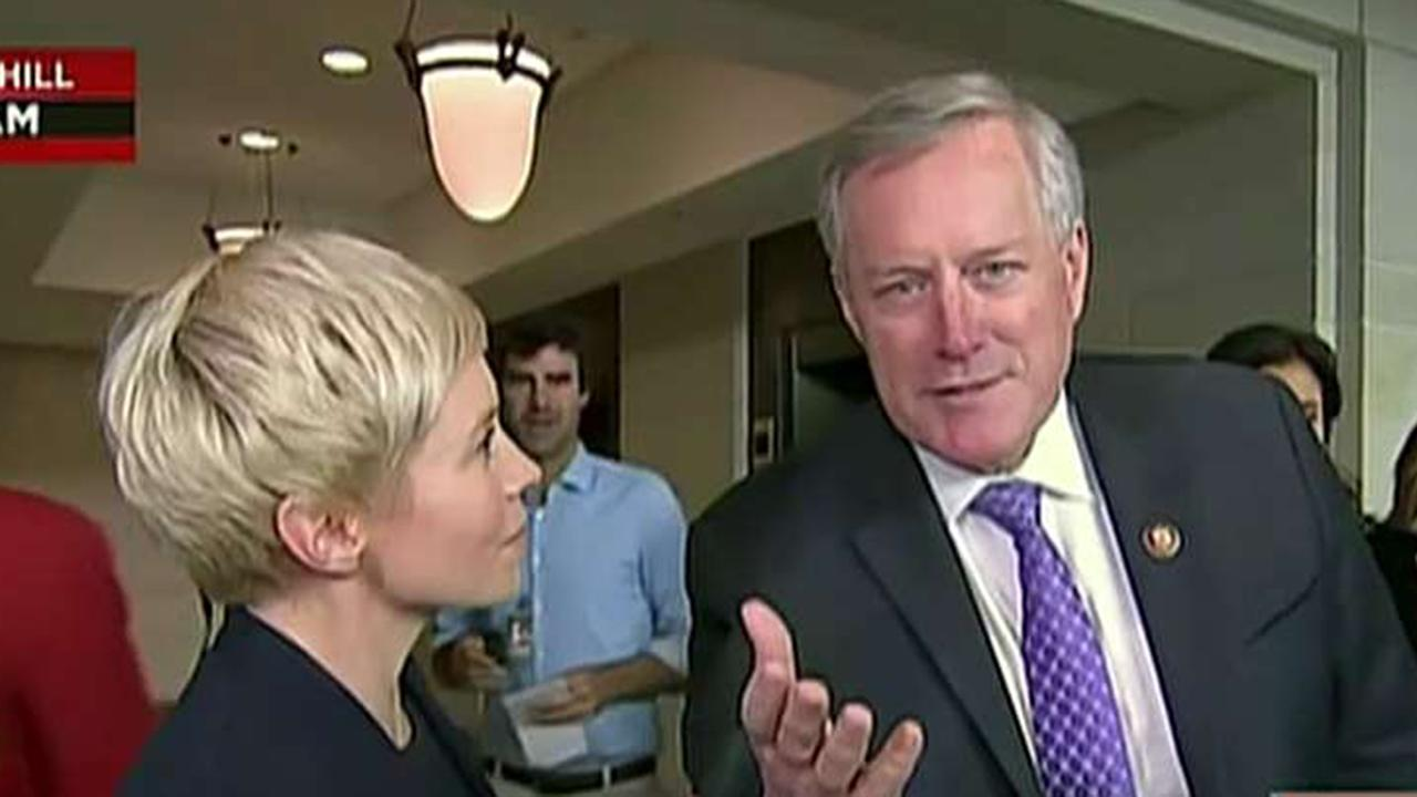 Rep. Mark Meadows shuts down MSNBC reporter on air