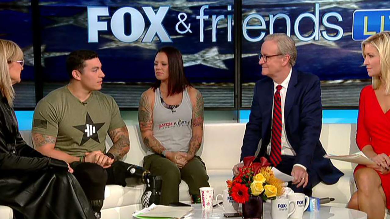 Combat veteran fitness program turns pain into purpose