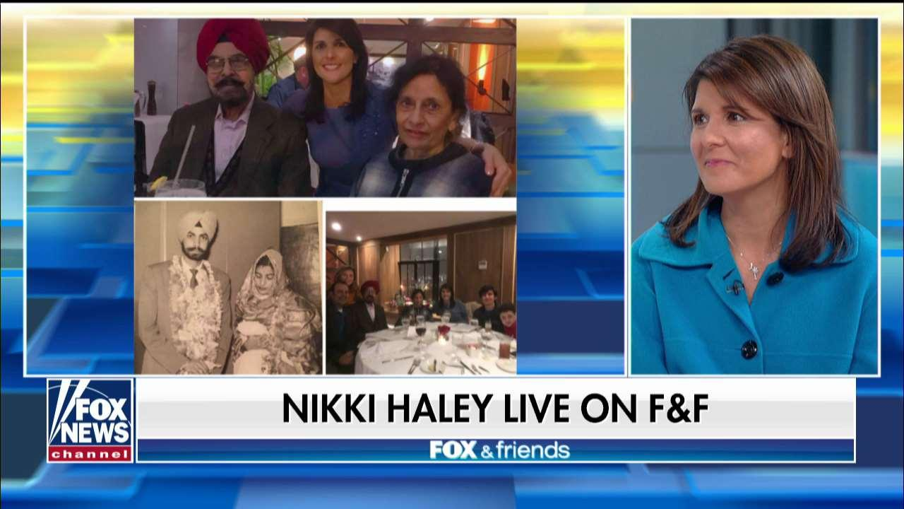 Nikki Haley discusses growing up different