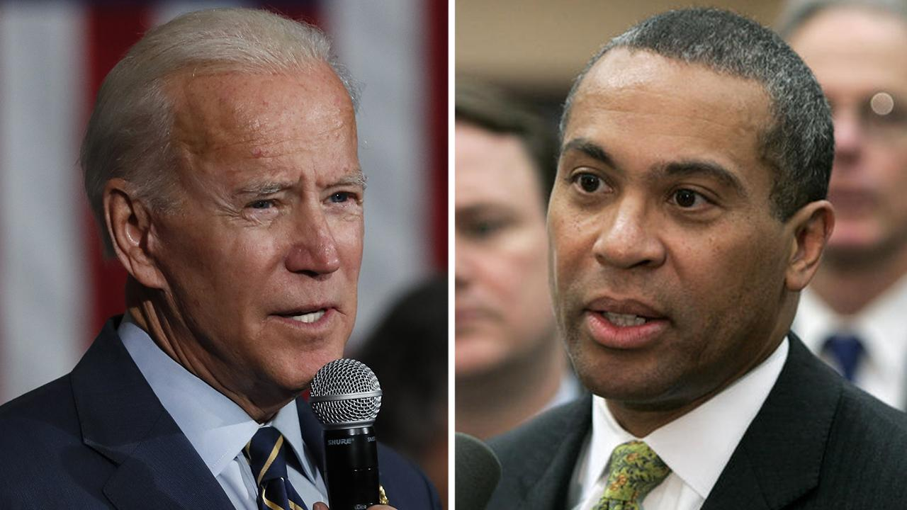 Biden holds onto narrow lead in NH primary as Deval Patrick considers entering race