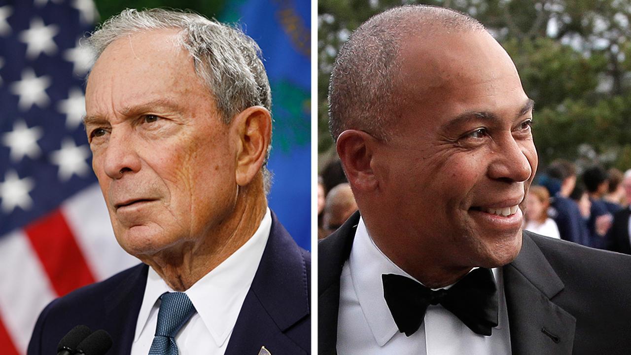 Deval Patrick, Michael Bloomberg consider making their 2020 White House bid
