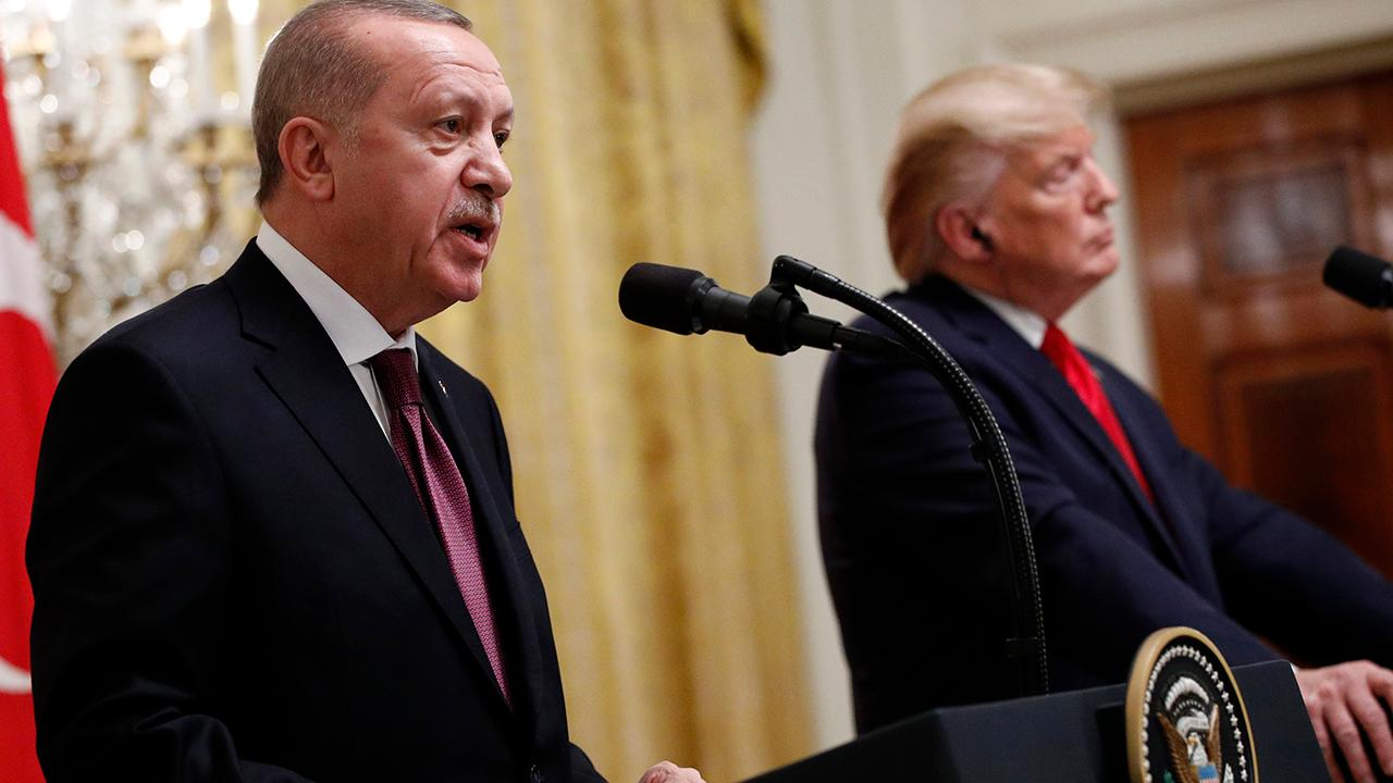 Lindsey Graham tears into Erdogan in tense White House meeting