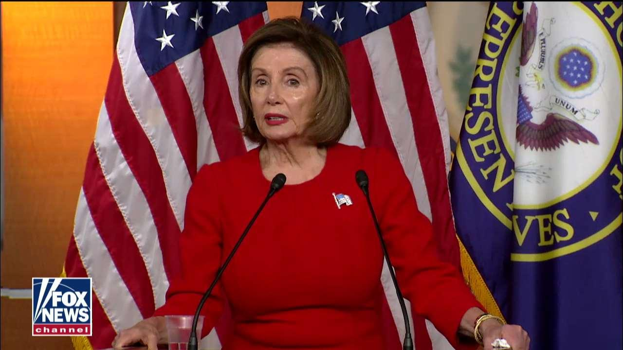 Pelosi: What Trump did makes Nixon look small