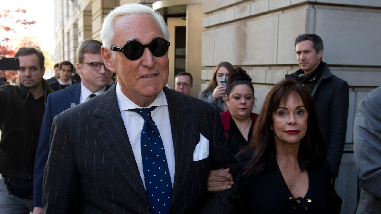 Westlake Legal Group 694940094001_6105141211001_6105148651001-vs Trump stirs pardon speculation with condemnation of DOJ's Roger Stone treatment Ronn Blitzer fox-news/person/roger-stone fox-news/person/donald-trump fox news fnc/politics fnc d84b1b4e-9667-5feb-a3de-a0dc1e8369d8 article