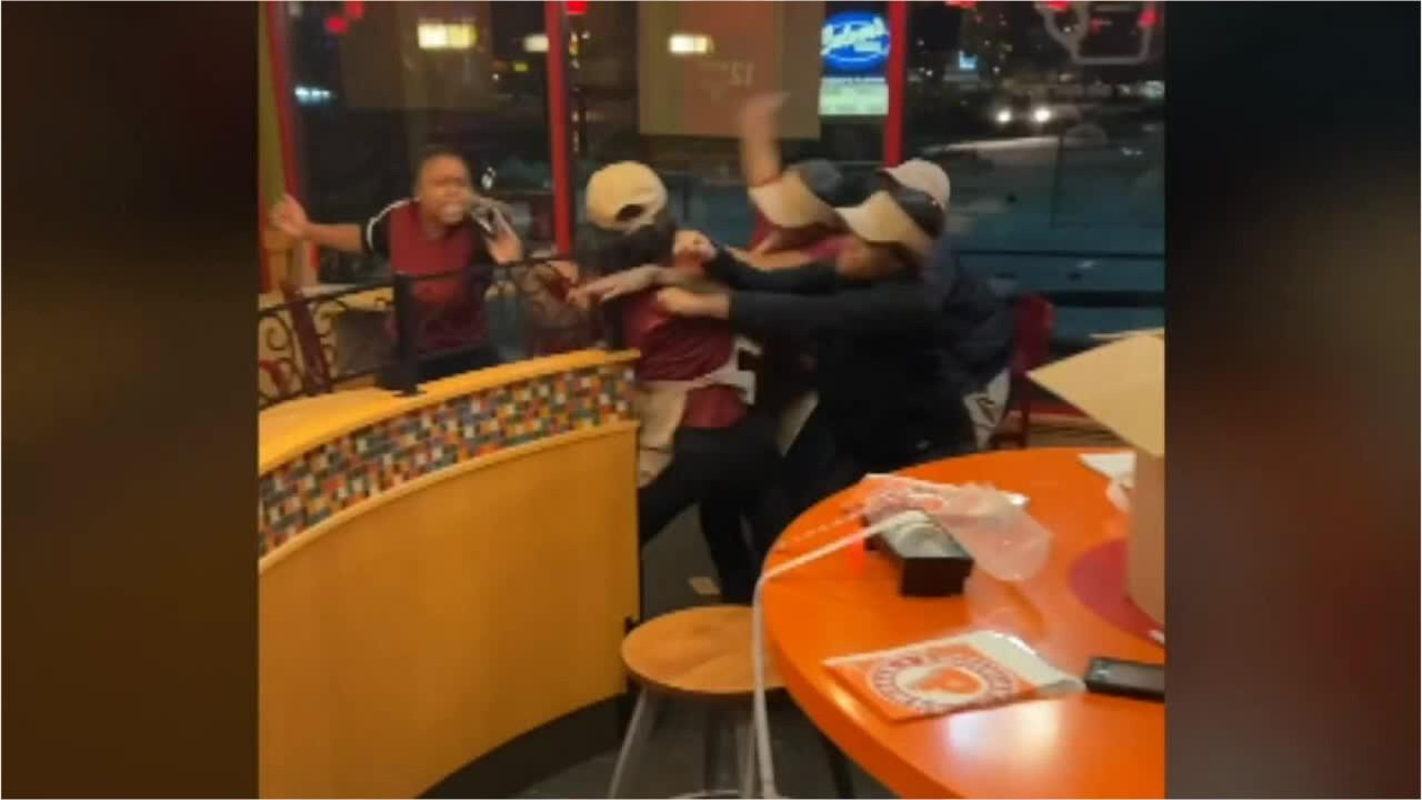 7 Milwaukee Popeyes employees fired after chaotic brawl caught on camera