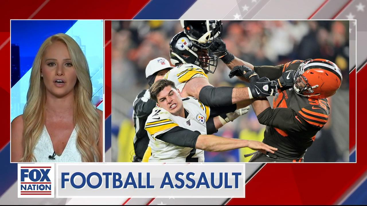 Tomi Lahren rips NFL commish over handling of on field attack on quarterback
