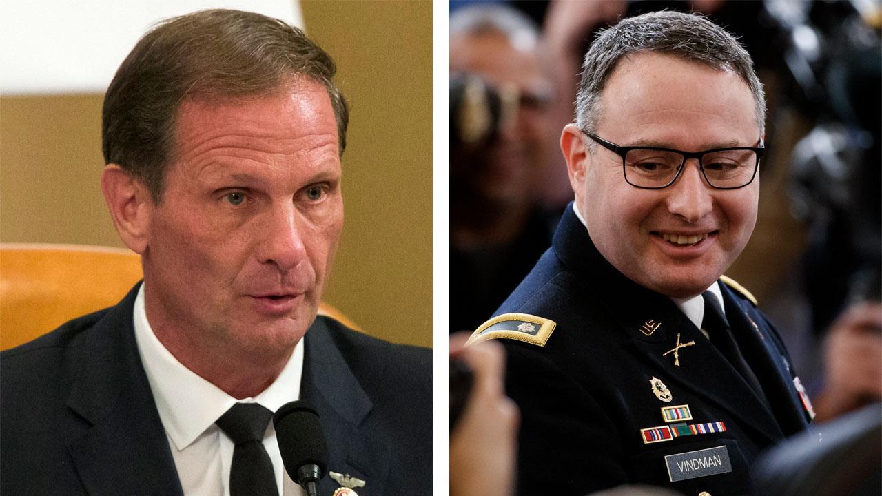 Rep. Chris Stewart challenges Lt. Col. Vindman's interpretation of Trump-Zelensky phone call