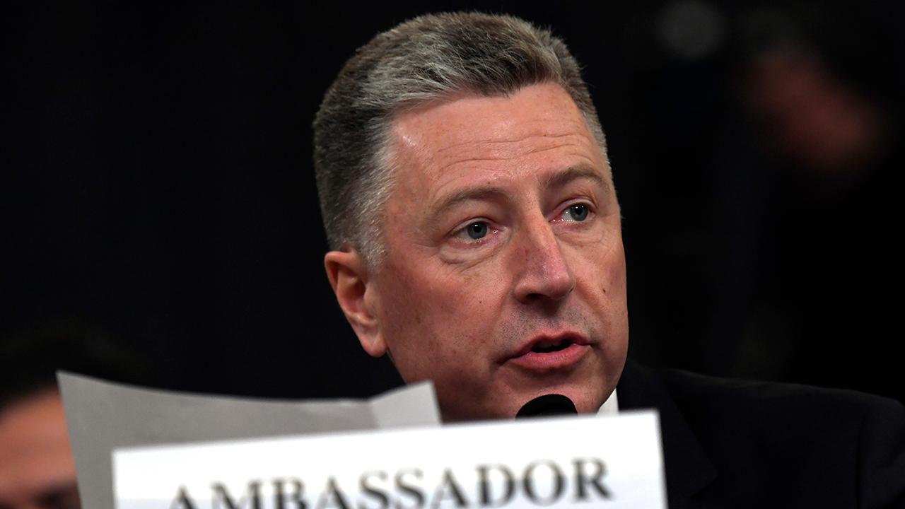 Amb. Kurt Volker: At no time was I aware of an effort to urge Ukraine to investigate Joe Biden