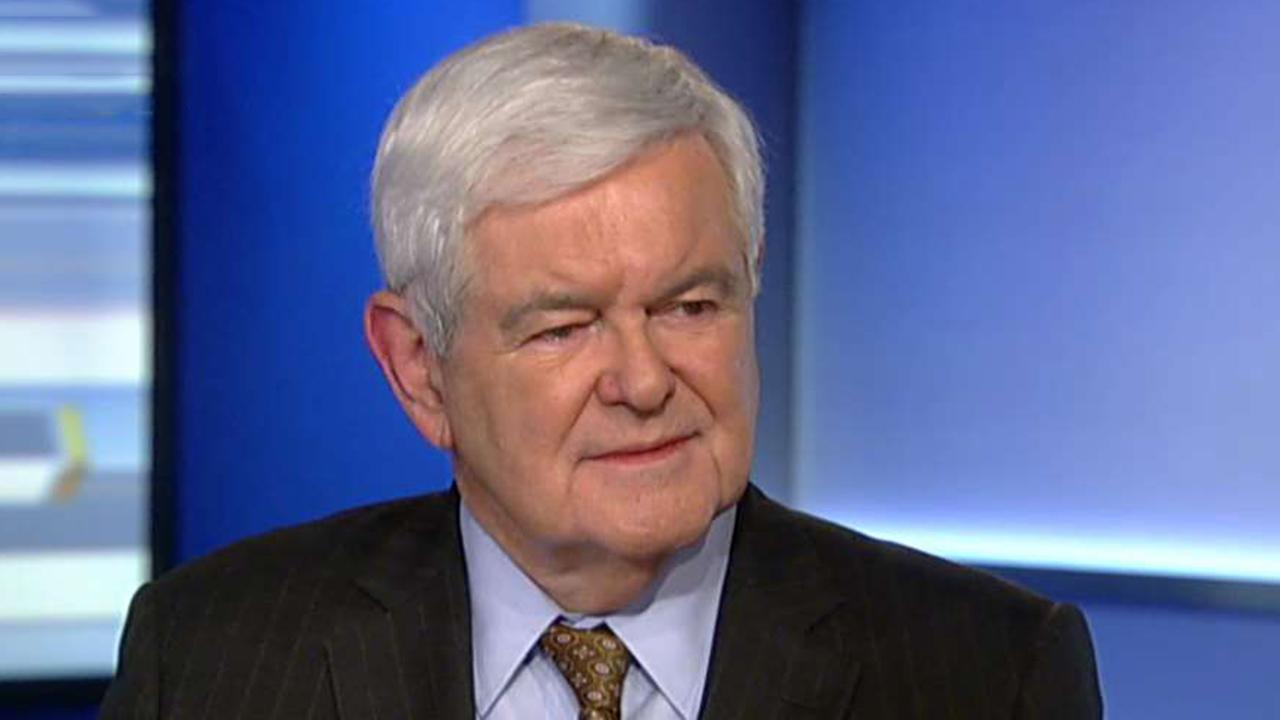 Newt Gingrich: Trump stands for American strength, Biden stands for American weakness