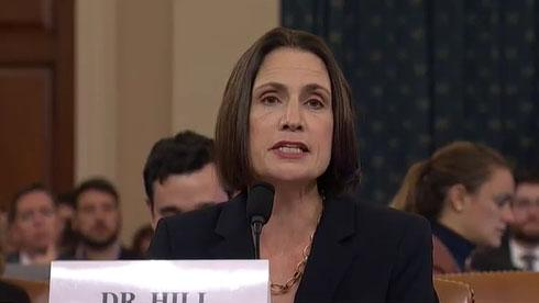 Fiona Hill: Many officials 'bet on the wrong horse'