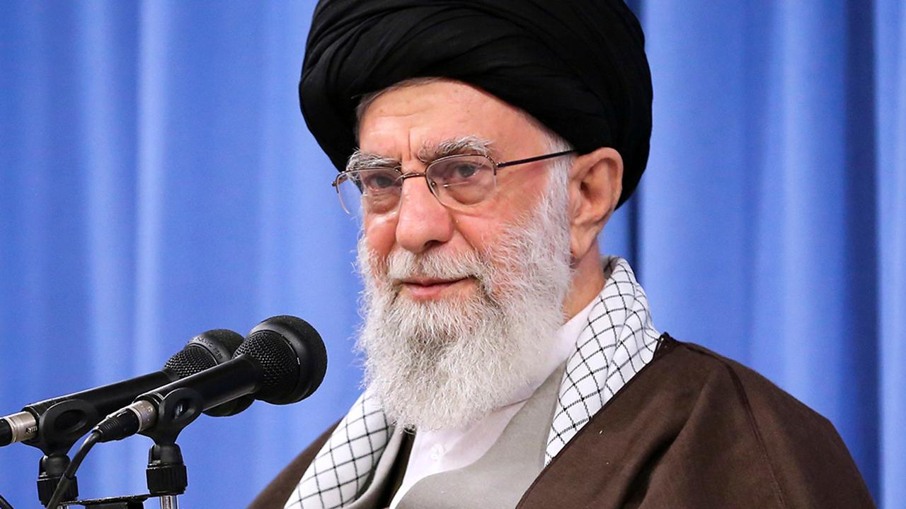 Iran's supreme leader claims anti-government protests are part of US-backed 'conspiracy'