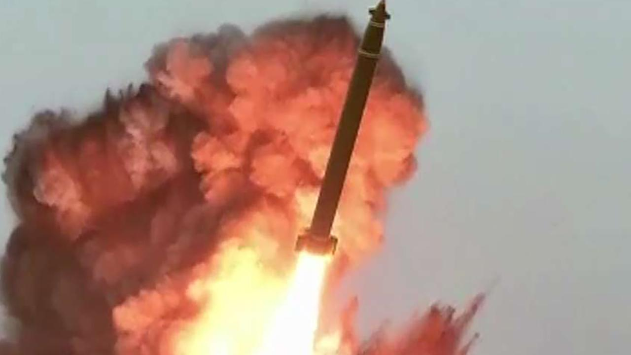 North Korea fires at least one 'unidentified projectile' overnight